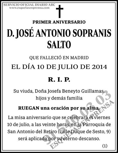 José Antonio Sopranis Salto